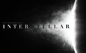 Picture space, light, flash, logo, logo, Interstellar, Interstellar, Christopher Nolan, Christopher Nolan