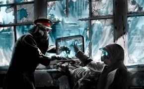 Picture captain, phone, laptop, sniper, facebook, romance of the Apocalypse, romantically apocalyptic, shooter, Facebook