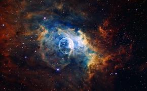 Picture nebula, Bubble, nebula, Bubble, NGC 7635