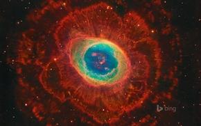 Wallpaper stars, the universe, Ring nebula