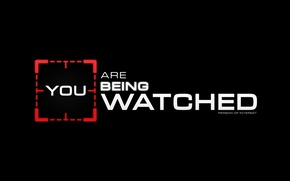 Picture CBS, TV show, Person of interest, POI, You are being watched
