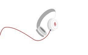 Wallpaper wire, Beats Audio, headphones