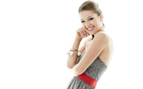 Wallpaper Melissa Benoist, Smile, Actress, Girl, Braclet