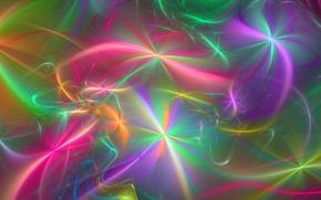 Wallpaper rays, fractal, stars, abstraction, background, Wallpaper, figure, fuzzes