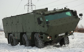 Picture machine, Typhoon, The armed forces of Russia, Armored