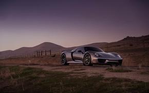 Picture Porsche, Spyder, 918, with, HRE