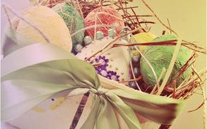 Wallpaper holiday, Easter, Easter eggs
