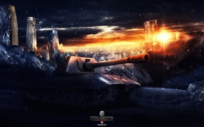 Picture World of Tanks, Wargaming Net, FuriousGFX, E100