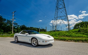 Picture 2000, Pontiac, White, Firebird