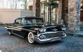 Picture retro, Chevrolet, 1958, Bel Air Impala