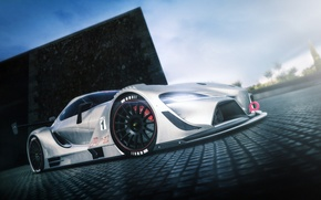 Picture Concept, Toyota, Car, Race, FT-1, Vision GT