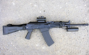 Picture Combat shotgun 18, security measures, 5, the COP-K is designed for self-defense