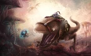 Picture Morrowind, Nerevarine, guar, dunmer