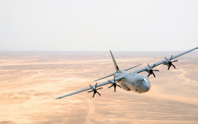 Picture the plane, military transport, Super Hercules, C-130J