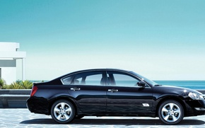 Picture sea, Renault, sedan, Safrane