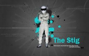 Wallpaper Top gear, Top Gear, The Stig, Stig, The Stig