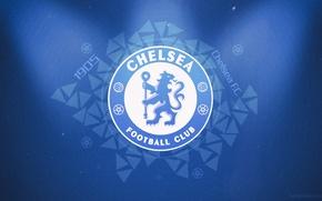 Picture Wallpaper, football, Desk, emblem, football, Chelsea, Chelsea, fans, fans