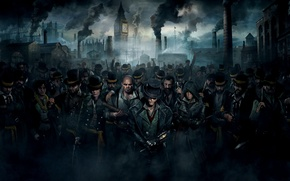 Picture pipe, smile, weapons, people, smoke, the crowd, home, port, cane, Big Ben, beard, gang, hats, …