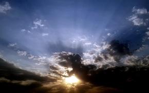 Picture sky, nature, cloud, art, dinosaur, suhart, cloud art