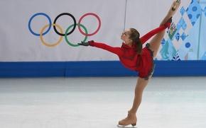 Picture figure skating, Olympic games, Yulia Lipnitskaya, skater