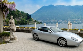 Picture sea, mountains, Maserati, Zagato, GS