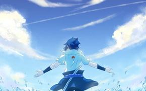 Picture sea, squirt, guy, is, naruto, art, Sasuke