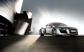 Wallpaper auto, dawn, audi