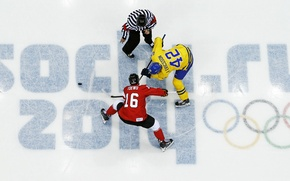 Picture the game, ice, Canada, Russia, Sweden, washer, Hockey, the judge, Hockey, hockey players, Sochi 2014, ...