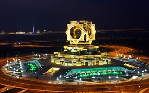 Picture Architecture, Turkmenistan, Turkmenistan, Wedding Palace in Ashgabat