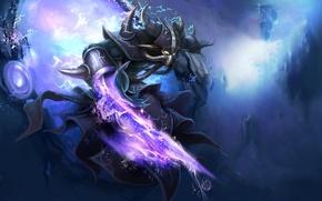 Picture stones, weapons, magic, zipper, monster, the portal, league of legends