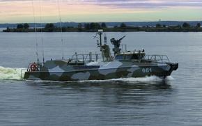 Picture boat, Navy, Raptor, patrols, anti-sabotage