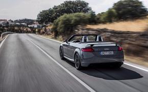 Picture auto, Audi, convertible, rear view, Quattro, RS, TT