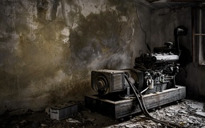 Picture background, device, generator