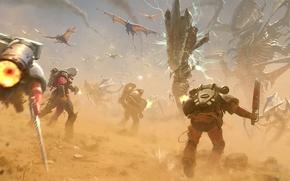 Picture figure, dragons, art, monsters, creatures, battle, the battle, monster, Jose Daniel Cabrera