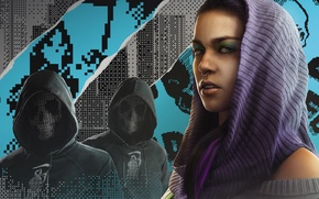 Picture The game, Ubisoft, Game, Watch Dogs 2, DedSec, Sitara, Sitar