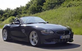 Picture road, black, convertible, German, Z4 M Roadster AC Schnitzer ACS4 Sport
