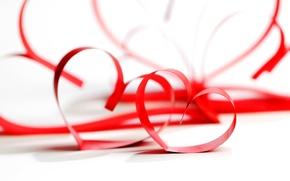 Picture love, background, widescreen, Wallpaper, romance, mood, heart, feelings, tape, wallpaper, red, love, red, heart, heart, …
