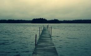 Wallpaper pierce, lake, water, forest