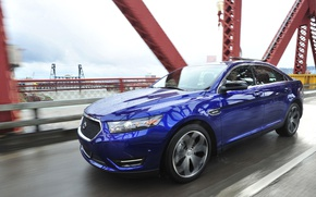 Picture bridge, Ford, sedan, Taurus, SHO