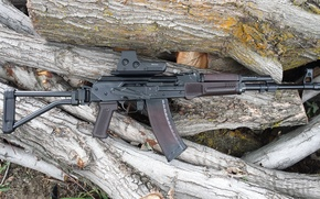 Wallpaper weapons, carabiner, self-loading, smoothbore, Vepr-12