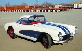 Picture Corvette, Chevrolet, (2934), '1956–57