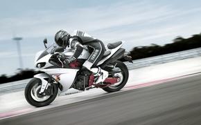 Picture Wallpaper, speed, track, motorcycle, wallpaper, bike, yamaha, racer, rides, Yamaha