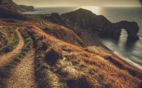 Picture landscape, Dorset, Durdle Door