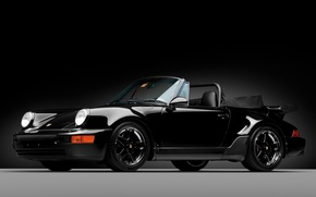 Picture 911, Porsche, 1992, Cernei Is Helped By Black, America Roadster