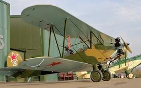 Picture multipurpose, biplane, Polikarpov, Po-2, U-2