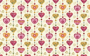 Wallpaper holiday, heart, vector, texture, heart, drawings, hearts, love, widescreen Wallpaper, the Wallpapers, hd Wallpapers, hd ...