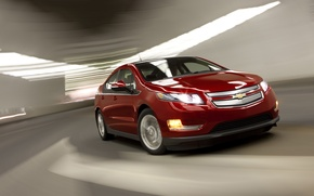 Picture auto, the way, speed, Car, Chevy, Electric, Volt