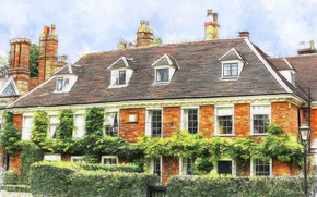Picture the city, house, England, Norfolk, Norwich