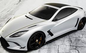 Picture car, machine, auto, Lotus, white, supercar, white, Lotus, supercar, avto, Elite, Elite, tuner