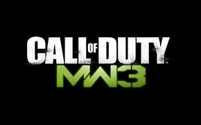 Wallpaper MW3, Modern Warfare 3, Call of Duty, CoD